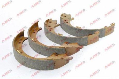 C04020ABE ABE Тормозные колодки, барабанні