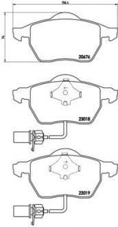 P85085X BREMBO Тормозные колодки Brembo Xtra