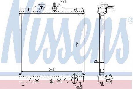 63310A NISSENS Радиатор системы охлаждения