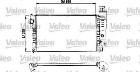 730575 Valeo Радиатор системы охлаждения