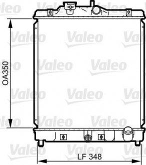 734117 Valeo Радиатор системы охлаждения