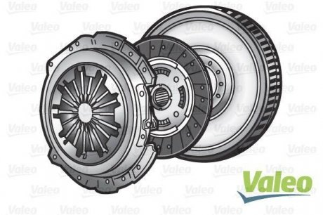 835055 Valeo Комплект сцепления + маховик